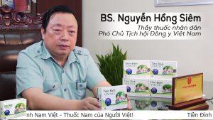 BS. Nguyễn Hồng Siêm đánh giá về chất lượng viên tiền đình Nam Việt